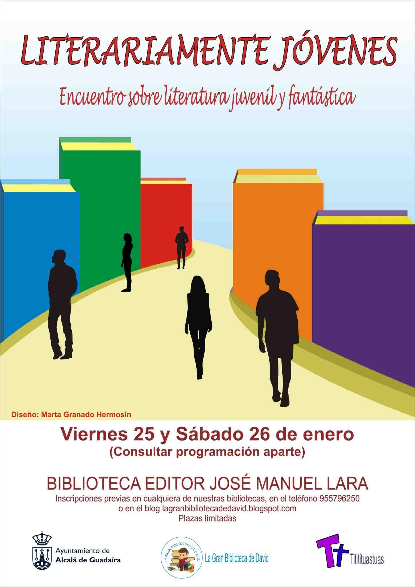 Cartel Encuentro Literario