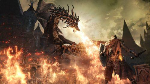 Dark Souls III Fuego Dragón