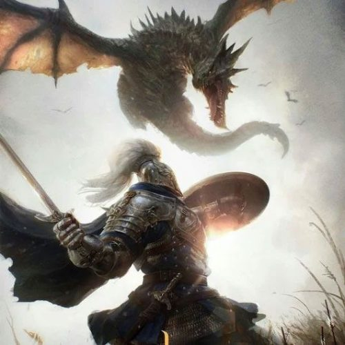Dragon contra Caballero