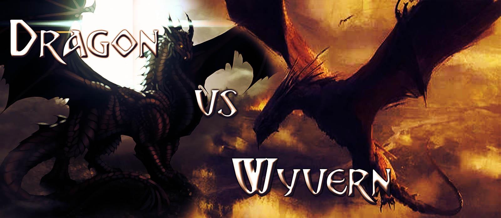 Dragon vs Wyvern