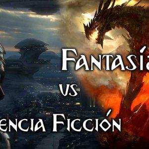 Fantasía y Ciencia Ficción Dragón y Robot