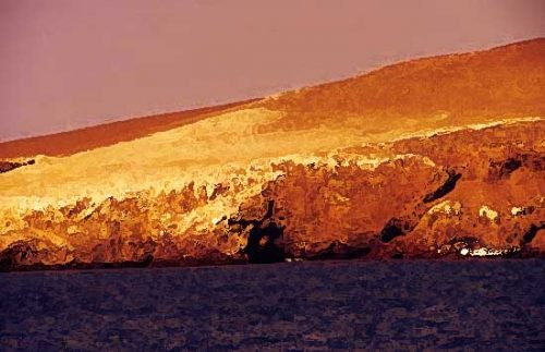 Isla rocosa