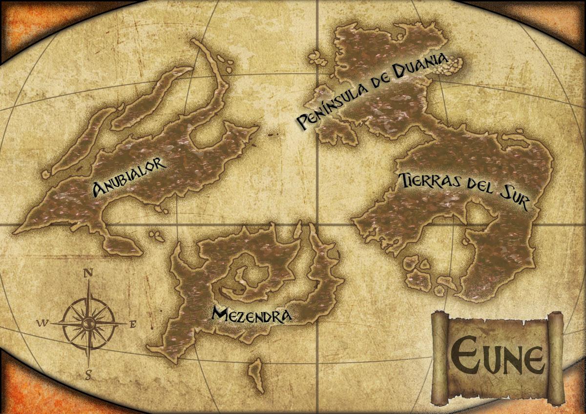 Mapamundi Eune