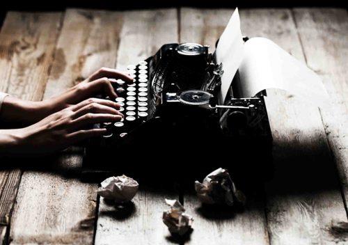 Maquina de escribir Autoedición