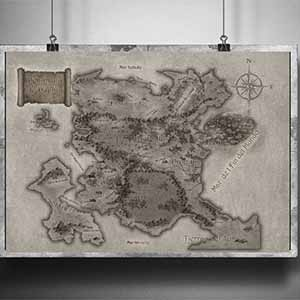 Poster Mapa Duania
