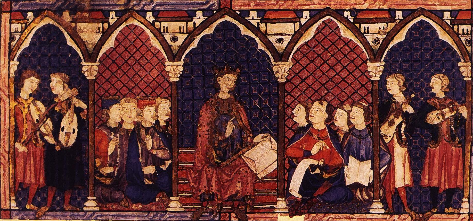 Reunion reyes y eruditos